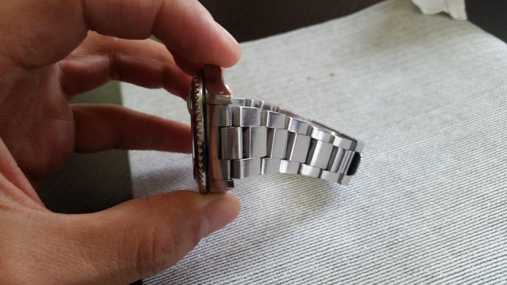 Pulire cinturino pelle orologio